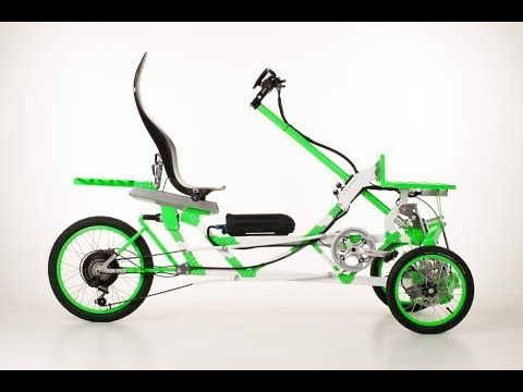 Ev4 Electric Four Wheel Drive Vehicle Trike Best Electric Bikes Super Bikes