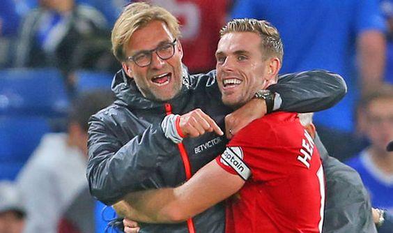 Liverpool boss Jurgen Klopp heaps praise on Jordan Henderson after stunner against Chelsea   via Arsenal FC - Latest news gossip and videos http://ift.tt/2cfvL7c  Arsenal FC - Latest news gossip and videos IFTTT