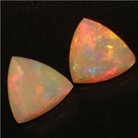 6.69 CTS Natural Ethiopian Opal Faceted Cut PEAR Play Free Certified OPALHUB H25