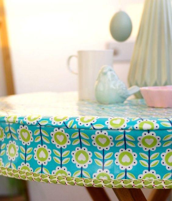 Designer Wachstuch Tischdecke