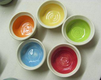 Items similar to Ceramic bowls ,decorative bowls ,pottery bowls ...
