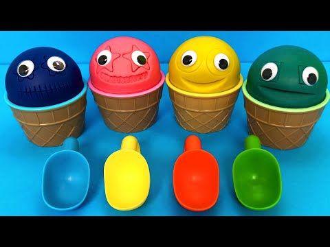 الحفار الجرار سيارة الإطفاء شاحنات القمامة و سيارات الشرطة ومجمو Excavator Toys 25 Youtube Shopkins Toys Play Doh Ice Cream Ice Cream Cup