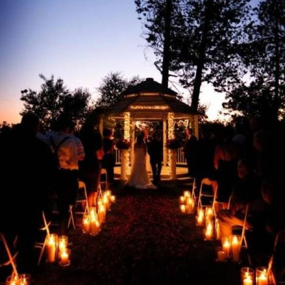 My wedding plan - night wedding