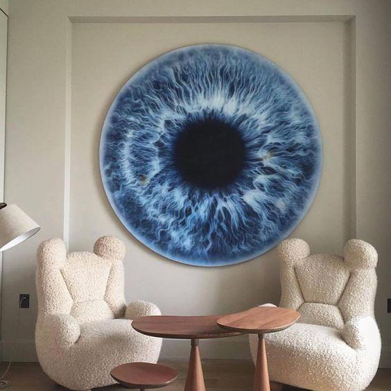 "27.6k Likes, 553 Comments - ART   Love, Learn, Art 🎨 (@art_spotlight) on Instagram: ""Write 'Eye' in your language if its not English! By @pierre.yovanovitch"""