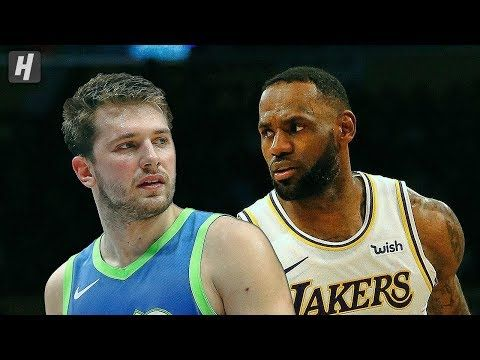 Dallas Mavericks Vs Los Angeles Lakers Full Highlights December 1 2019 2019 20 Nba Season Dallas Mavericks Los Angeles Lakers Oscar Robertson