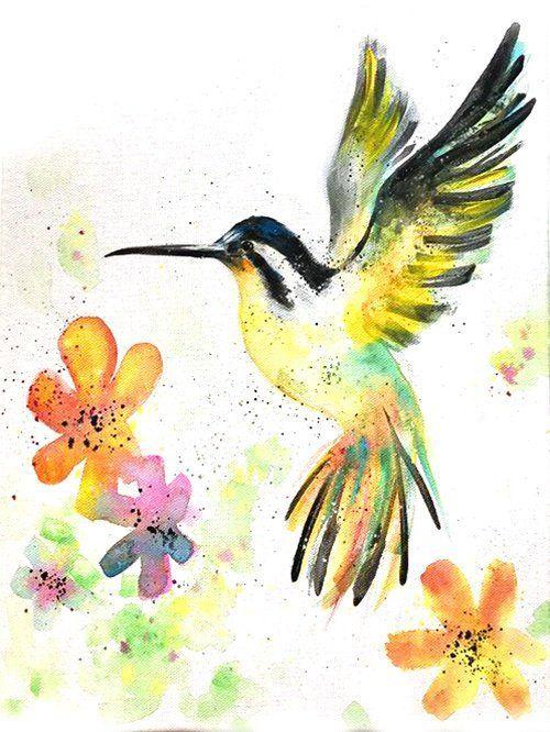 Du Mochtest Unter Fachkundiger Anleitung Lernen Wie Man Diesen Kolibri Mit Acryl Selber Malen Kann Dann Klicke Jetzt Au Kolibri Kolibri Zeichnung Vogel Malen