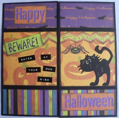 Never-ending Halloween card.