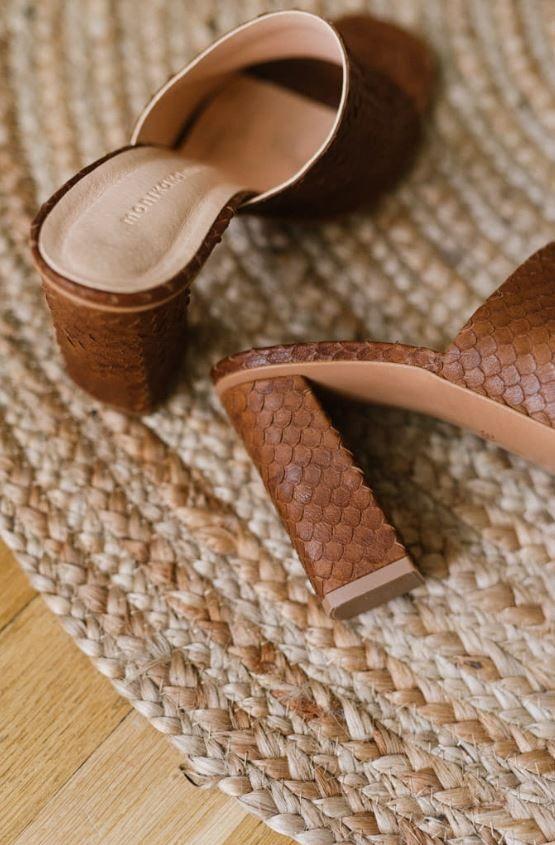 Klapki Na Wysokim Obcasie Heels Shoes Platform