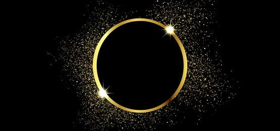 Golden Background With Squares And Circles In Brilliant Golden Color Gold And Black Wallpaper Black Background Images Black Paper Background