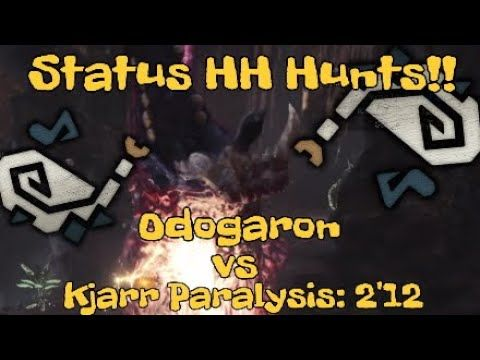 Odogaron Hunting Horn Solo Kjarr Horn Run 2 12 Monster Hunter
