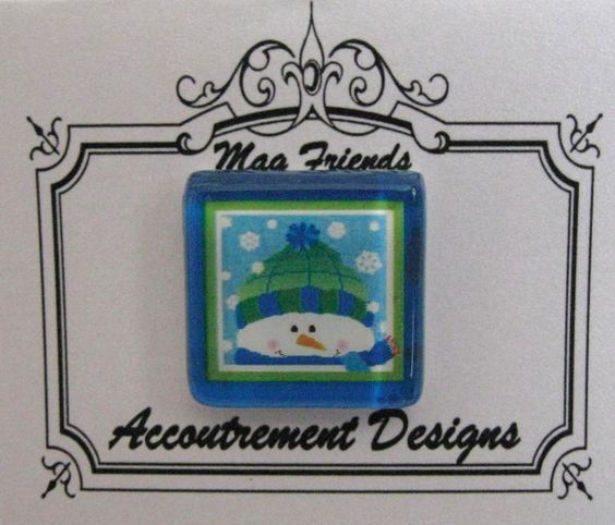 Accoutrement Designs Brr Snowman Needle Minder Magnet Pepperberry SN01-M #AccoutrementDesignsPepperberryExclusive