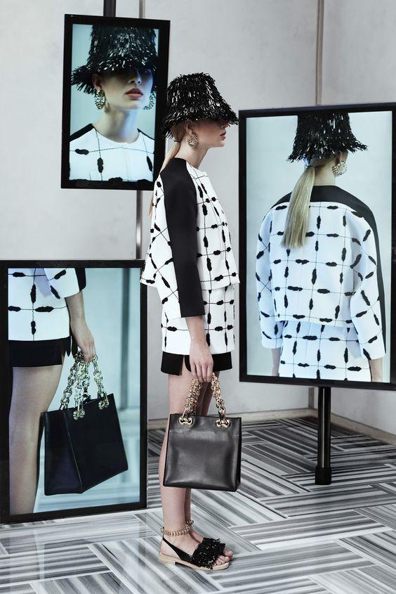 irina kravchenko, lisa verberght, marike le roux, mariina keskitalo, lexi boling for balenciaga resort 2014 | visual optimism; fashion editorials, shows, campaigns & more!