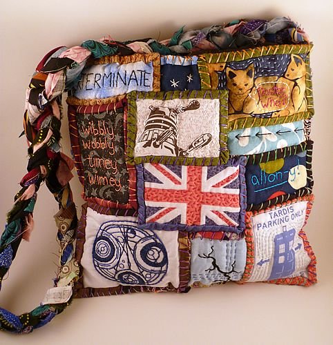 It's bigger on the inside - Dr Who Travels with Teesha Moore! - PURSES, BAGS, WALLETS
