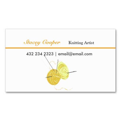 elegant handmade crafts handmade knittings business card templates