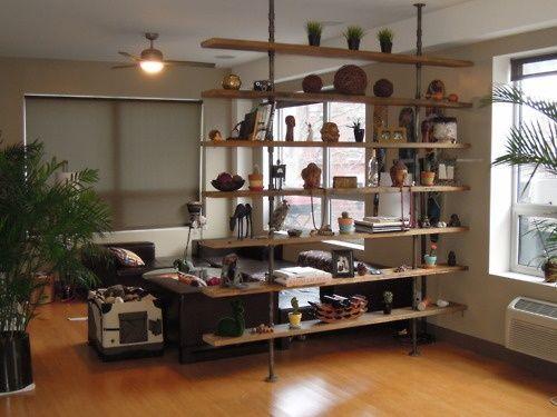107 Best Estanteria Images On Pinterest Bookshelf Room Divider Room Divider Shelves Wood Cont Room Divider Shelves Bookshelf Room Divider Hanging Room Dividers