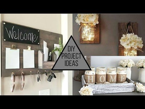 2019 Diy Modern Trendy Home Decorating Ideas Youtube With