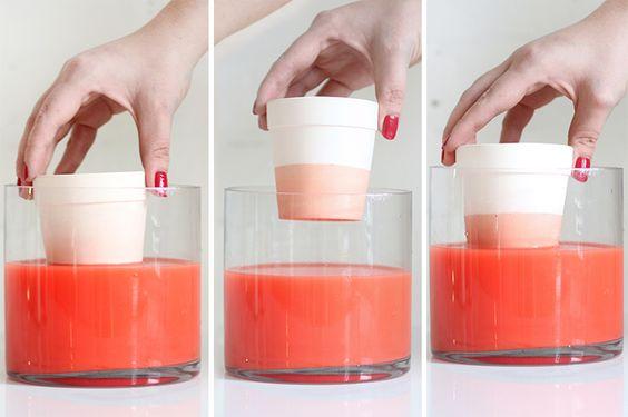 Dip dye pots step3a dip it