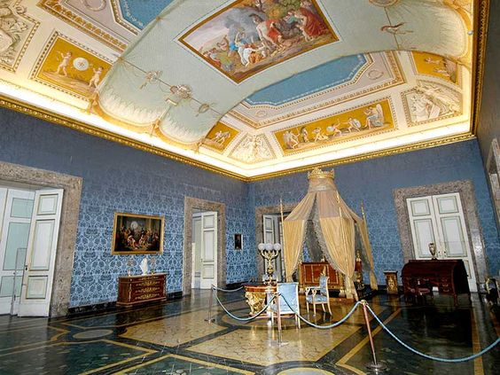 Royal Palace of Caserta - Bedroom of Francis II | Press Office BAPSAE Superintendence of Caserta and Benevento
