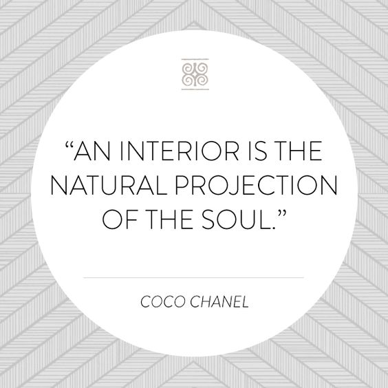 Interior Design Words: Coco Chanel, Inspiring Words And The Natural On Pinterest