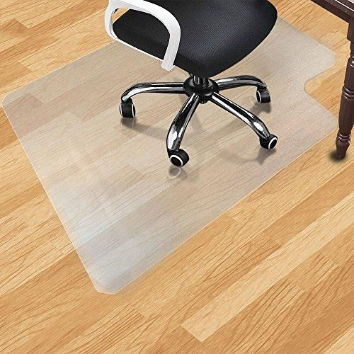 Office Desk Chair Mat For Hard Wood Floor Pvc Clear Protection Floor Mat Premium Quality Chair Mat Thick And Sturdy In 2021 Desk Chair Mat Chair Mats Office Chair Mat Chair mats for high pile carpet