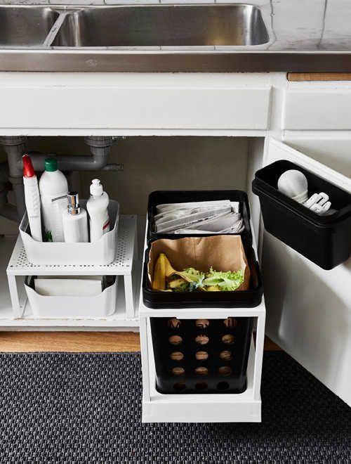 Diy Home Sweet Home 5 Genius Under Sink Storage Solutions Kitchen Sink Storage Kitchen Sink Organization Cupboards Organization
