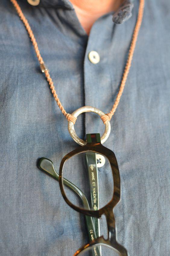 Eyewear necklace, eyewear cord,lanyard,handwoven sunglasses chain,eyeglass loop…