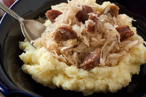 Want good luck for the New Year? Make pork and sauerkraut - it can't hurt your chances!