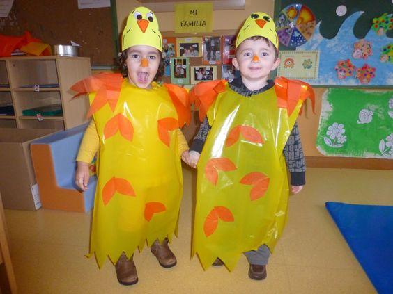 Disfraz de pollo pepe clase de la tortuga tomasa la - Disfraz picapiedra casero ...