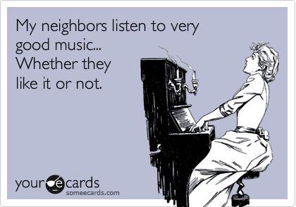Poor neighbors!
