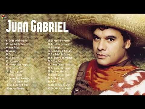Juan Gabriel Puras Rancheras De Las Primeras Mix 30 Exitos