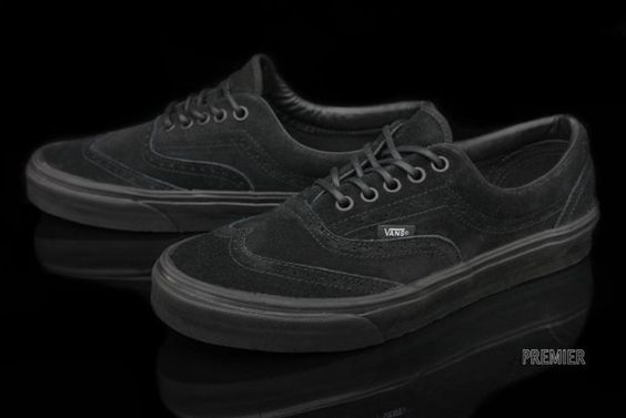 I have a pair of these wingtip vans.