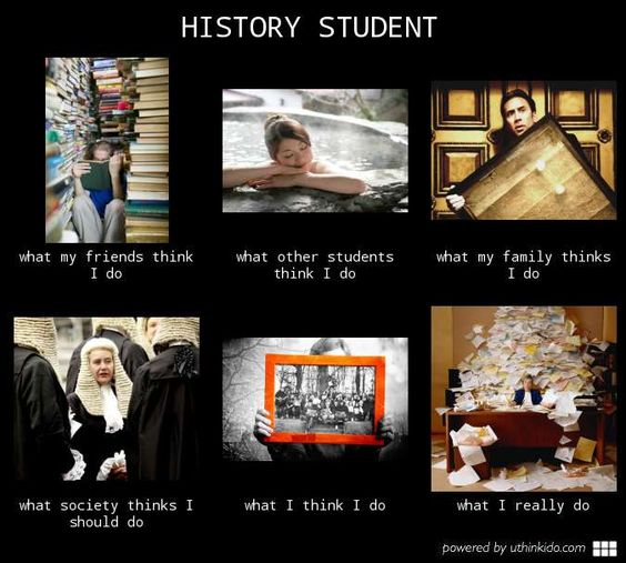 What is it like being a history major?