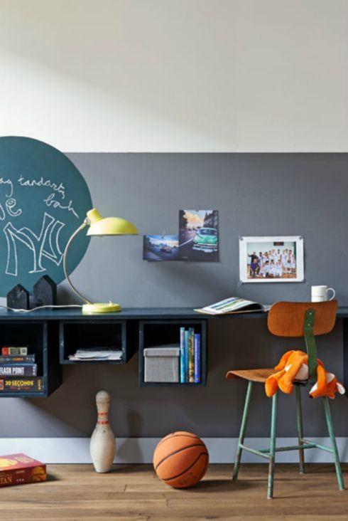 paredes paredes pintadas cuarto decoracin deco dormitorios fuente juegos escritorios de los nios espacios de los nios sala