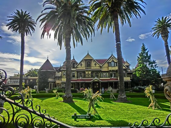Would You Purchase A Haunted House Winchester Mystery House Most Haunted Places Haunted Places