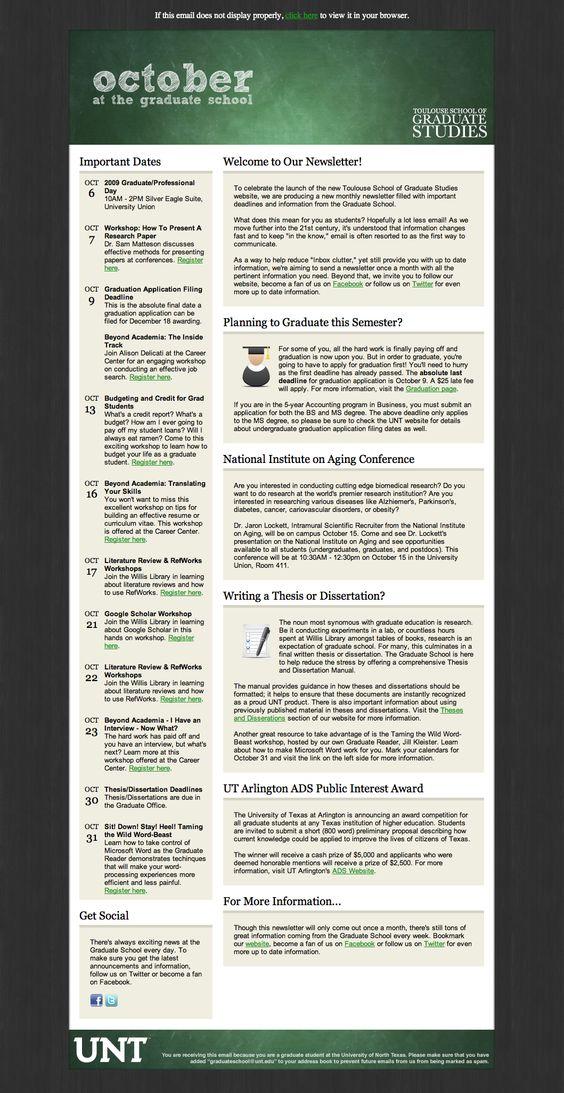 newsletter template School Newsletter Pinterest Newsletter - office newsletter