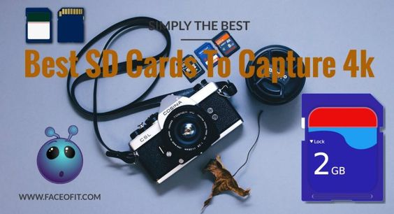 Best SD Cards To Capture 4k