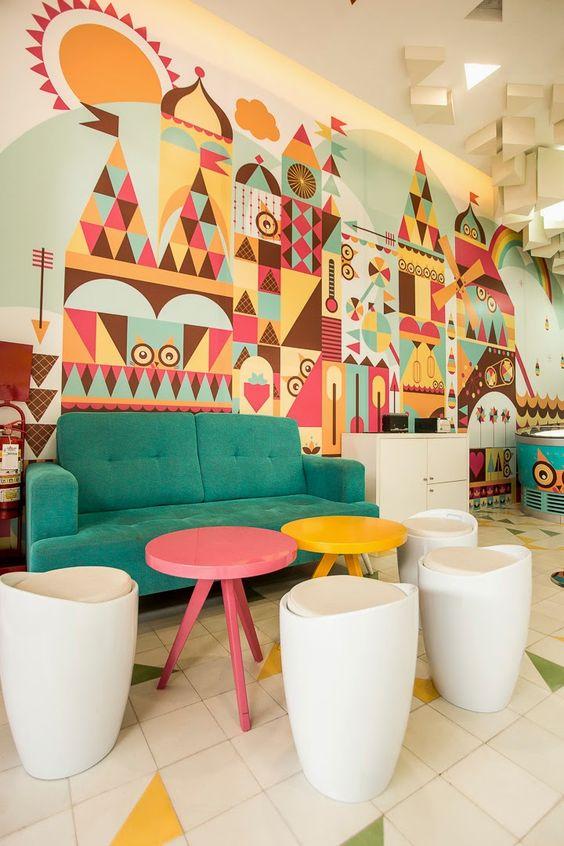 La heladería Madness Creamery... Un chispazo de diseño, color y sabor en Arequipa, por id 12º77º