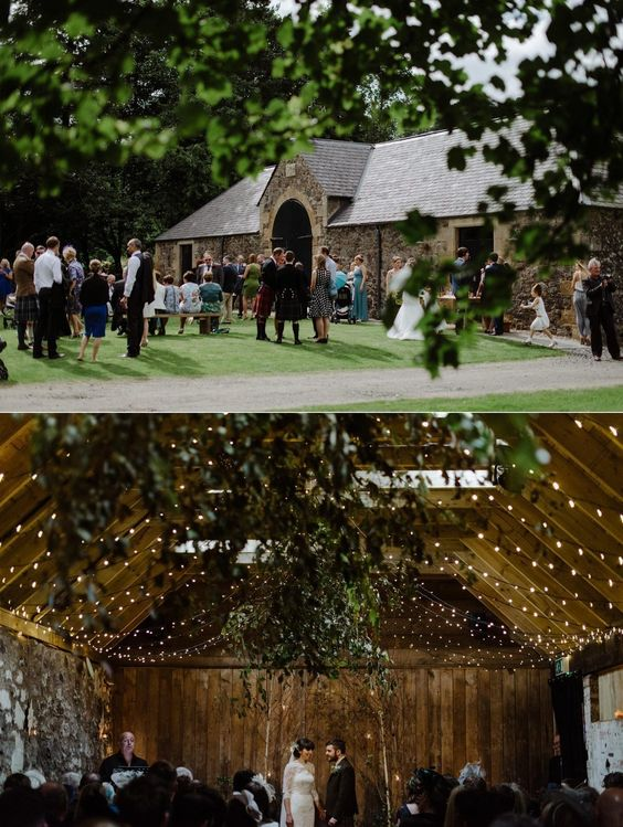 The Byre at Inchyra, Perthshire.   23 Incredible Places In Scotland Where You Can Actually Get Married