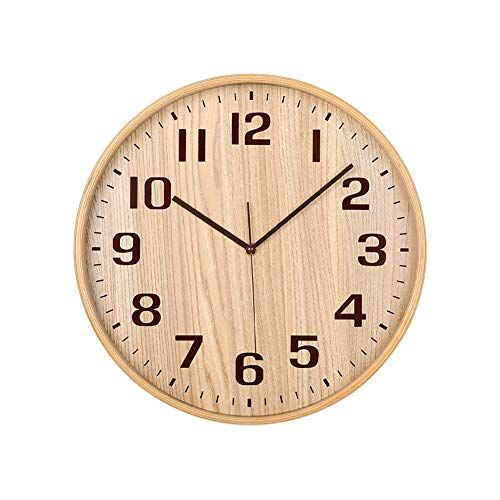 Classic Handmade Silent Wall Clock Kameishi 12 Inches Qu Https Www Amazon Com Dp B075zpmv7r Ref Cm Sw R Wood Wall Clock Living Room Decor Furniture Clock