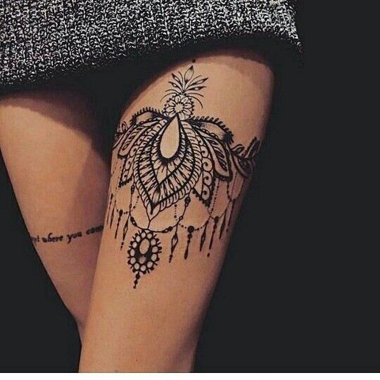 70 Most Eye Catching Meaningful Thigh Leg Tattoos Design For Women Diaror Diary Women S Tattoo Tattoos Leg Tattoos Women