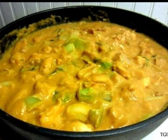 Cheesy Chicken Skillet without the cheese #paleo Cauliflower could be a good sub for the butternut squash??