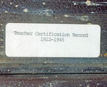 The South Carolina Department of Archives and History, located in Columbia, has resources for identifying an ancestor who was a teacher in Richland County    Continue reading on Examiner.com Was your ancestor a teacher? - Columbia Ethnic Community | Examiner.com http://www.examiner.com/ethnic-community-in-columbia/was-your-ancestor-a-teacher#ixzz1qL9RpziP