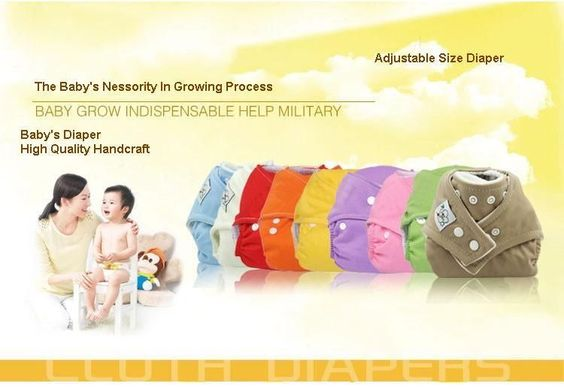 Multicolor 5-20 PCS Adjustable Baby Cloth Diaper nappy + liner insert Reusable great value.