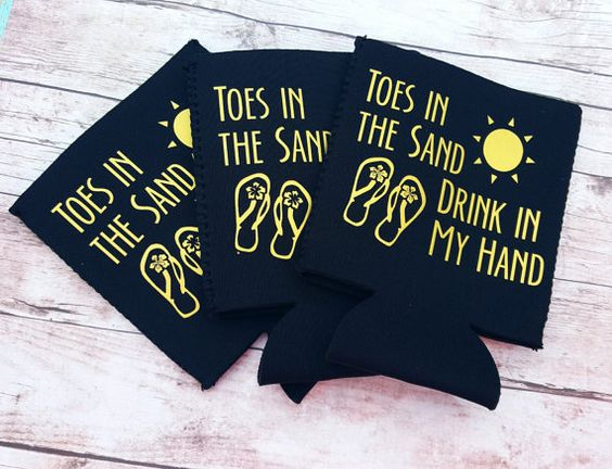 Hey, I found this really awesome Etsy listing at https://www.etsy.com/listing/269906694/toes-in-the-sand-drink-in-my-hand-coozie