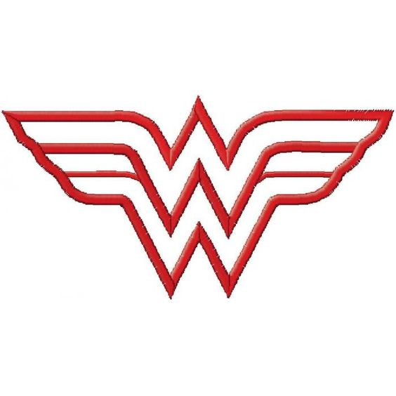 Wonderwoman Embroidery Designs