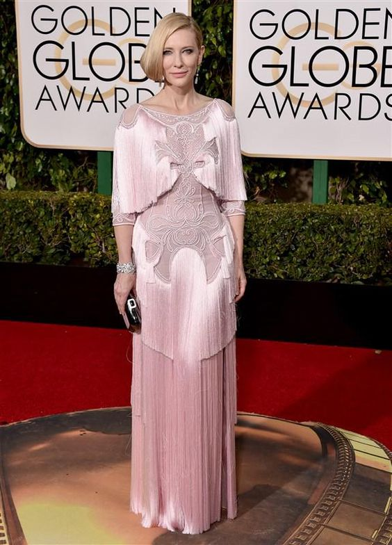 Cate Blanchett, in Givenchy, attends the 73rd Annual Golden Globe Awards in Los Angeles on Jan. 10, 2016