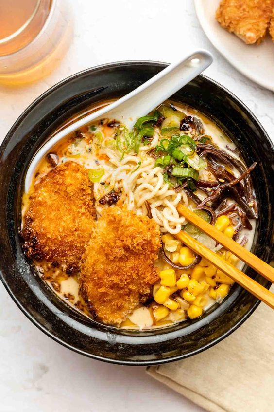 Vegan Tonkotsu Ramen - Okonomi Kitchen