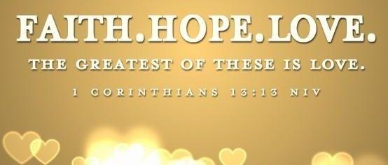 Love Wallpaper Upload On Fb : Faith, Hope, Love Facebook cover Facebook covers Pinterest Facebook, Love and Faith