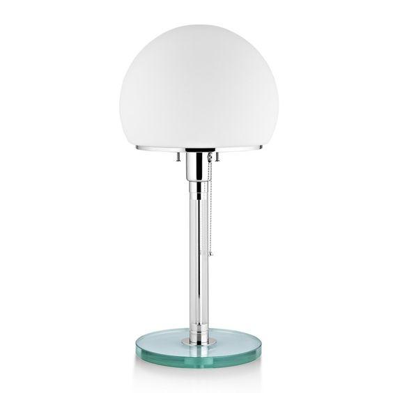 WG 24 Bauhaus Lampe