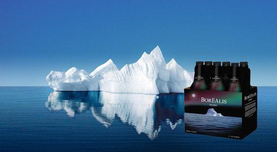 Bia Borealis Rare Iceberg 5% - Chai 355ml